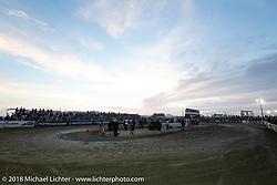 The Hooligan track at the RSD Moto Beach Classic. Huntington Beach, CA, USA. Sunday October 28, 2018. Photography ©2018 Michael Lichter.