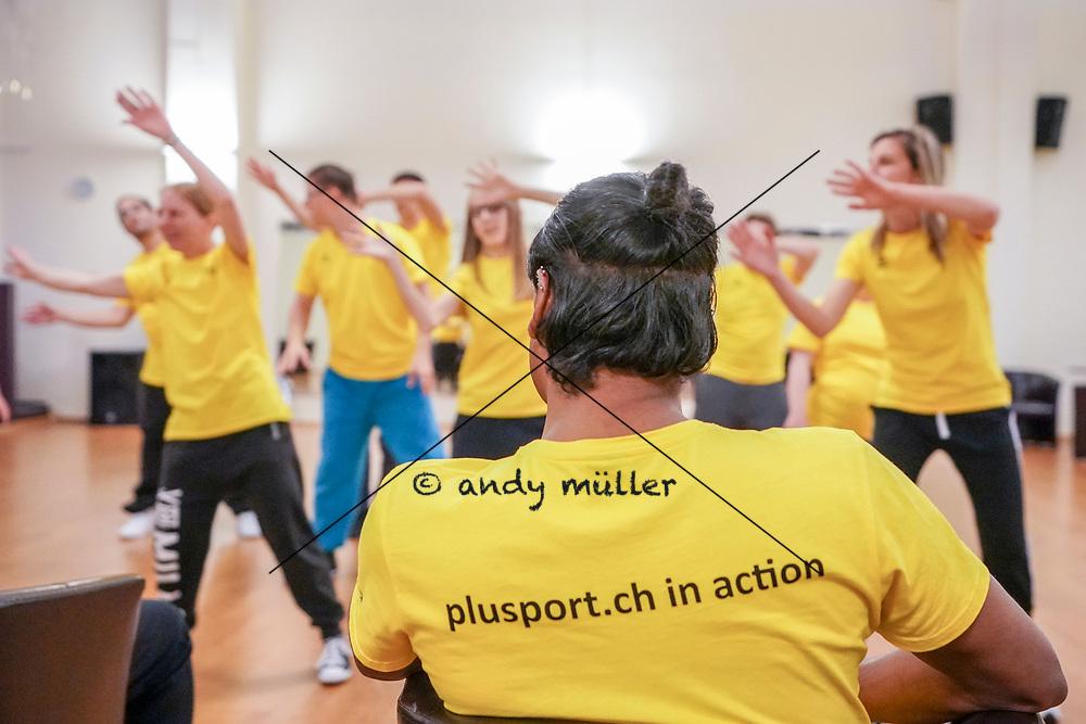 29.03.2019; Niederlenz; PluSport Training; <br /> <br /> Foto: Andy Mueller