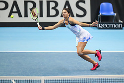 February 6, 2019 - Zielona Gora, Poland - Margarita Gasparyan (RUS) during Tennis 2019 Fed Cup by Paribas Europe/Africa Zone Group 1  match between Poland and Russia  in Zielona Gora, Poland, on 7 February 2019. (Credit Image: © Foto Olimpik/NurPhoto via ZUMA Press)