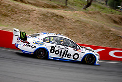 October 7, 2018 - Bathurst, NSW, U.S. - BATHURST, NSW - OCTOBER 07: Mark Winterbottom / Dean Canto in the The Bottle-O Racing Team Ford Falcon through Forest Elbow at the Supercheap Auto Bathurst 1000 V8 Supercar Race at Mount Panorama Circuit in Bathurst, Australia on October 07, 2018 (Photo by Speed Media/Icon Sportswire) (Credit Image: © Speed Media/Icon SMI via ZUMA Press)