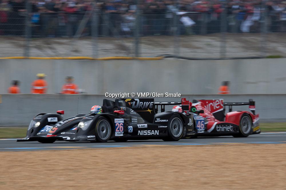 #26 Oreca 03 Nissan, Team Signatech Nissan, #46 Team TDS Racing, Le Mans 24H, 2012