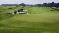SPIJK - Hole 9 van The Dutch .   Golfbaan THE DUTCH, COPYRIGHT KOEN SUYK