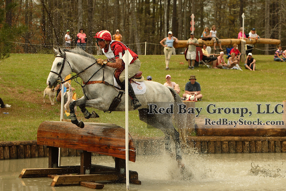 Bruce Davidson (USA) and Jam at Poplar Place Spring Horse Trials held in Hamilton, Georgia