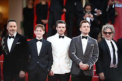 David Furnish, Bernie Taupin Taron Egerton, Director Dexter Fletcher, Bryce Dallas Howard, Richard Madden and Adam Bohling attend the screening of Rocketman during the 72nd annual Cannes Film Festival on May 16, 2019 in Cannes, France Photo by Shootpix/ABACAPRESS.COM