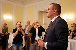 31.05.2015, Graz, AUT, Landtagswahl in der Steiermark, im Bild Mario Kunasek (FPÖ) // during the state parliament election day in Graz, Austria on 2015/05/31, EXPA Pictures © 2015, PhotoCredit: EXPA/ Erwin Scheriau