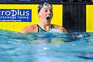 TOUSSAINT Kira Netherlands NED Gold Medal <br /> Women's 50m Backstroke Final <br /> Glasgow 07/12/2019<br /> XX LEN European Short Course Swimming Championships 2019<br /> Tollcross International Swimming Centre<br /> Photo Andrea Staccioli / Deepbluemedia / Insidefoto