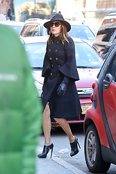 A funeral was held today in Manhattan for Bobby Zarin's. In attendance were Real Housewives' cast members, Bethenny Frankel, Kelly Benison, Sonja Morgan, Daniele Staub as well as Marla Trump. 15 Jan 2018 Pictured: Bethenny Frankel. Photo credit: ZapatA/MEGA TheMegaAgency.com +1 888 505 6342
