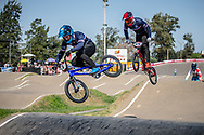 #4 (RENCUREL Jeremy) FRA  at Round 9 of the 2019 UCI BMX Supercross World Cup in Santiago del Estero, Argentina