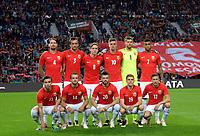BILDET INNGÅR IKEK I FASTAVTALER. ALL NEDLASTING BLIR FAKTURERT.<br /> <br /> Fotball<br /> Portugal v Norge<br /> Foto: imago/Digitalsport<br /> NORWAY ONLY<br /> <br /> PORTO, May 29, 2016 -- Norway s players pose for photo prior to a friendly soccer match between Portugal and Norway in preparation for Euro 2016, EM-Testspiel, Nationalteam Länderspiel at Dragon Stadium in Porto, Portugal, May 29, 2016. Portugal won 3-0<br /> Lagbilde Norge
