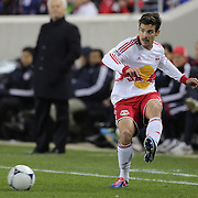 Heath Pearce, Red Bulls,  in action during the New York Red Bulls V D.C. United Major League Soccer, Eastern Conference Semi Final 2nd Leg match at Red Bull Arena, Harrison. New Jersey. USA. 8th November 2012. Photo Tim Clayton