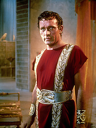 Richard Burton as Marc Anthony in the movie Cleopatra.