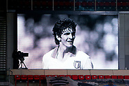Homage to Italy former player Paolo Rossi before the UEFA Europa League, Group E football match between PSV and Omonia Nicosia on December 10, 2020 at Philips Stadion in Eindhoven, Netherlands - Photo Perry vd Leuvert / Orange Pictures / ProSportsImages / DPPI