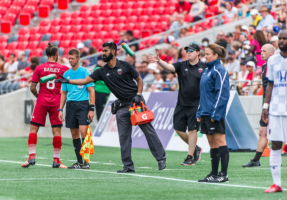 The NASL match between the Ottawa Fury FC and Indy Eleven FC at TD Place Stadium in Ottawa, ON. Canada on Aug. 28, 2016 with the game finishing in a 1-1 draw.<br /> <br /> PHOTO: Steve Kingsman/Freestyle Photography