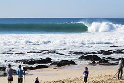 July 19, 2017 - Pumping overhead conditions greeted the Corona Open J-Bay at Supertubes, Jeffreys Bay, South Africa...Corona Open J-Bay, Eastern Cape, South Africa - 19 Jul 2017. (Credit Image: © Rex Shutterstock via ZUMA Press)