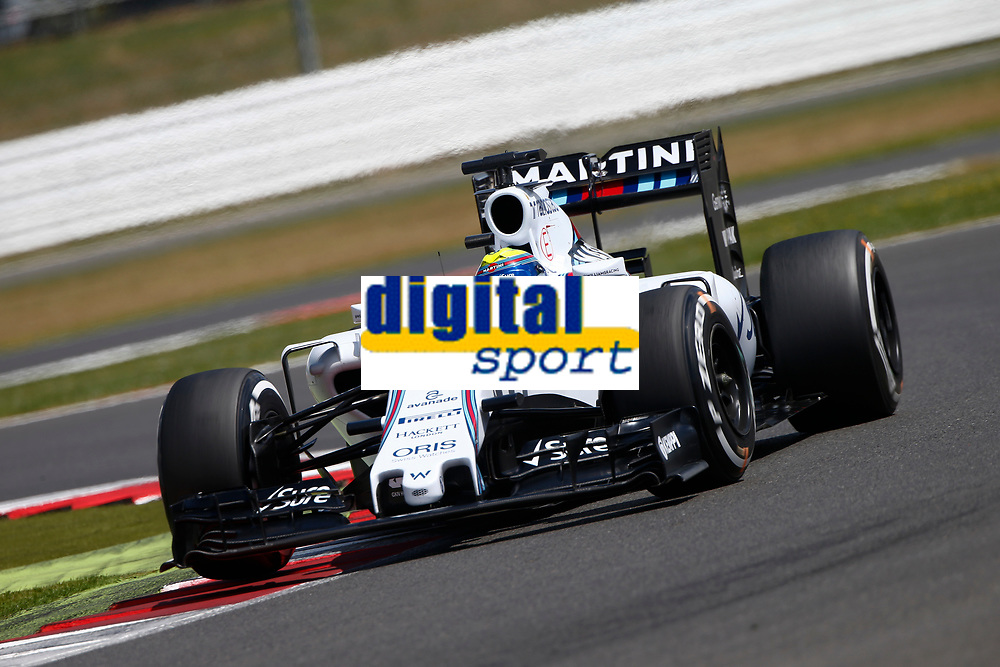 MASSA felipe (bra) williams f1 mercedes fw37 action     during the 2015 Formula One World Championship, Grand Prix of England from july 2 to 5th 2015,  in Silverstone, Great Britain. Photo Frederic Le Floc'h / DPPI
