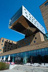 New modern Nhow hotel in Berlin Germany