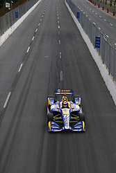 July 14, 2018 - Toronto, Ontario, Canada - ALEXANDER ROSSI (27) of the United States takes to the track to practice for the Honda Indy Toronto at Streets of Toronto in Toronto, Ontario. (Credit Image: © Justin R. Noe Asp Inc/ASP via ZUMA Wire)