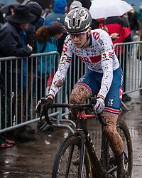 CARRICK-ANDERSON Corran (GBR) during Men Junior race, 2020 UCI Cyclo-cross Worlds Dübendorf, Switzerland, 2 February 2020. Photo by Pim Nijland / Peloton Photos   All photos usage must carry mandatory copyright credit (Peloton Photos   Pim Nijland)