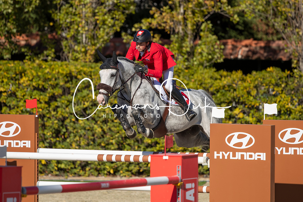 Fuchs Martin, SUI, Silver Shine<br /> FEI Jumping Nations Cup Final<br /> Barcelona 2019<br /> © Hippo Foto - Dirk Caremans<br />  03/10/2019