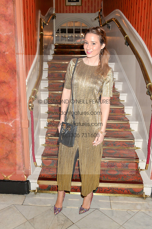 KELLY EASTWOOD at a Gala Performance of Impossible at the Noël Coward Theatre, 85-88 Saint Martin's Lane, London on 13th July 2016.