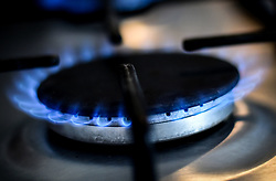 Embargoed to 0001 Friday November 02 File photo dated 12/08/17 of a gas ring on a home cooker. According to a survey by uSwitch some three million UK household bill payers, or 11\%, currently owe an average of £134 or a collective £400 million to their energy supplier at a time when - just as winter begins - they would expect to be in credit.