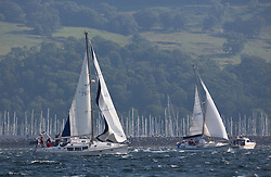 Largs Regatta Week 2015, hosted by Largs Sailing Club and Fairlie Yacht Club<br /> <br /> 7576C, Breagha, Brendan Bocker<br /> <br /> Credit Marc Turner