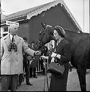 The Irish Grand National at Fairyhouse Racecourse, Co. Meath..23.04.1962