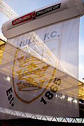 Hull inflatable during the Ladbrokes Challenge Cup Final 2017 match between Hull RFC and Wigan Warriors at Wembley Stadium, London, England on 26 August 2017. Photo by Simon Davies.