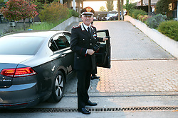 TULLIO DEL SETTE COMANDANTE GENERALE ARMA DEI CARABINIERI<br /> RICERCHE IGOR VACLAVIC DOPO OMICIDIO VERRI