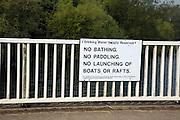 Drinking water supply reservoir rules Alton Water, Tattingstone, Suffolk, England