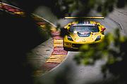 August 5 2018: IMSA Weathertech Continental Tire Road Race Showcase. 3 Corvette Racing, Corvette C7.R, Jan Magnussen, Antonio Garcia