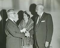 1961 Charles & Josephine Toberman with Charles Kendall