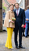 Koningsdag 2019 in Amersfoort / Kingsday 2019 in Amersfoort.<br /> <br /> Op de foto: prins floris en prinses aimée