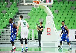 Ziga Zupan during basketball match between KK Union Olimpija and KK Tajfun in Quarterfinals of 1st Nova KBM Slovenian Champions League 2015/16, on May 12, 2016, in Arena Stozice, Ljubljana, Slovenia. Photo by Vid Ponikvar / Sportida