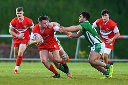 17th May 2019 , Stebonheath Park, Llanelli, Wales;  Under 19 international, Wales U19 vs Ireland  ; <br /> <br /> Credit: Craig Thomas/Replay Images