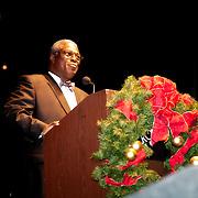 Mayor Sly James at the 2011 Mayor's Christmas Tree Lighting, Kansas City Missouri.
