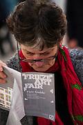 Frieze London 2014, Regents Park, London, 14 Oct 2014.