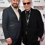 Elliot Grove and Vitalijus Zukas Nominated attends the Raindance Film Festival - VR Awards, London, UK. 6 October 2018.