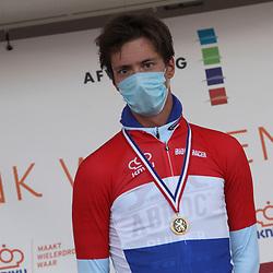21-08-2020: Wielrennen: NK U23: Drijber<br /> Stijn Daemen (Netherlands / Team A Bloc CT) pakt de titel