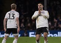Football - 2019 / 2020 Sky Bet (EFL) Championship - Fulham vs. Leeds United<br /> <br /> Aleksandar Mitrovic (Fulham FC) reacts after his disallowed goal at Craven Cottage<br /> <br /> COLORSPORT/DANIEL BEARHAM