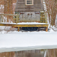 Country winter landscape photography of the beautiful historic Old Manse Boathouse at the Minute Man National Historical Park in Concord, Massachusetts.<br /> <br /> New England rural scenery photography images of the Old Manse Boathouse are available as museum quality photo, canvas, acrylic, wood or metal prints. Wall art prints may be framed and matted to the individual liking and interior design decoration needs:<br /> <br /> https://juergen-roth.pixels.com/featured/the-historic-old-manse-boathouse-juergen-roth.html<br /> <br /> Good light and happy photo making!<br /> <br /> My best,<br /> <br /> Juergen