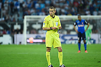 Clement Turpin - 10.05.2015 - Marseille / Monaco - 36eme journee de Ligue 1<br /> Photo : Alexandre Dimou / Icon Sport