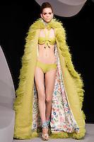 Kim Noorda walks the runway  at the Christian Dior Cruise Collection 2008 Fashion Show