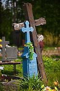 Łosinka. Kolorowy cmentarz