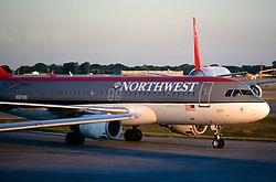 Northwest Airlines Jet