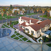 Images of Solano County Event Center originally the county's library. Lionakis was the architect in the renovation. Civic Architecture Examples of Chip Allen Photography.