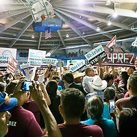Navajo Nation primaries were narrowed between two finalists. Joe Shirley Jr. and Jonathan Nez, two seasoned politicians meet inside the Window Rock Sports Complex in Window Rock, AZ. The two candidates will now face off in the upcoming general elections held in November.