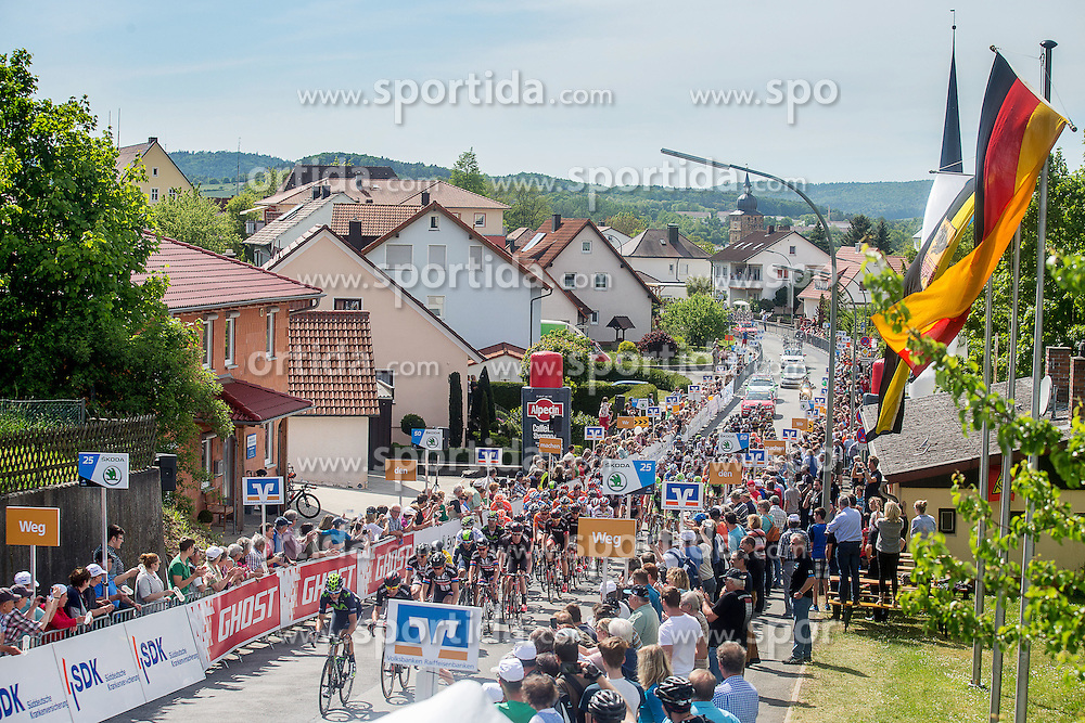Radsport: 36. Bayern Rundfahrt 2015 / 3. Etappe, Selb - Ebern, 15.05.2015<br /> Cycling: 36th Tour of Bavaria 2015 / Stage 3, <br /> Selb - Ebern, 15.05.2015<br /> Ziel - Arrival,
