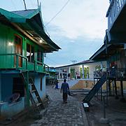 Street scenes in the village of Komodo. Komodo Island, Indonesia.