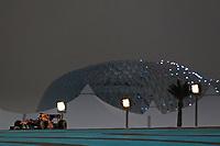 MOTORSPORT - F1 2010 - ABU DHABI GRAND PRIX - YAS MARINA (UAE) - 11 TO 14/11/2010 - PHOTO : FREDERIC LE FLOC H / DPPI - <br /> SEBASTIAN VETTEL (GER) - RED BULL RENAULT RB6 - ACTION